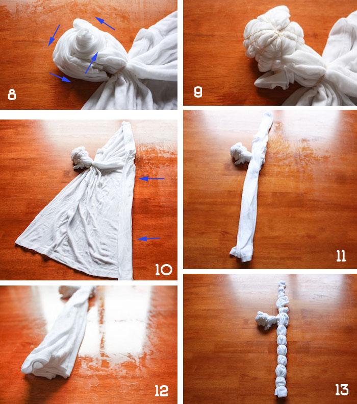 Tie Dye American Flag Tee Shirt DIY - onelittleminuteblog.com