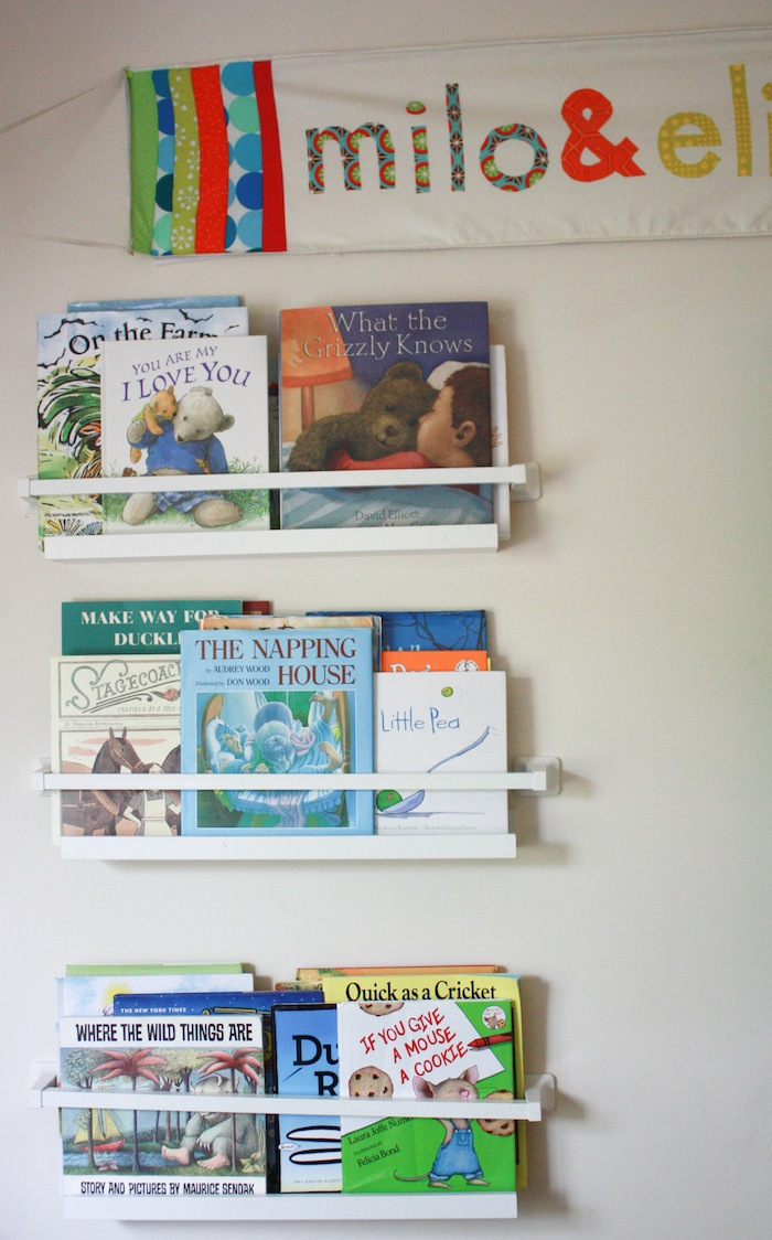 home away from home diy front facing book shelves live free