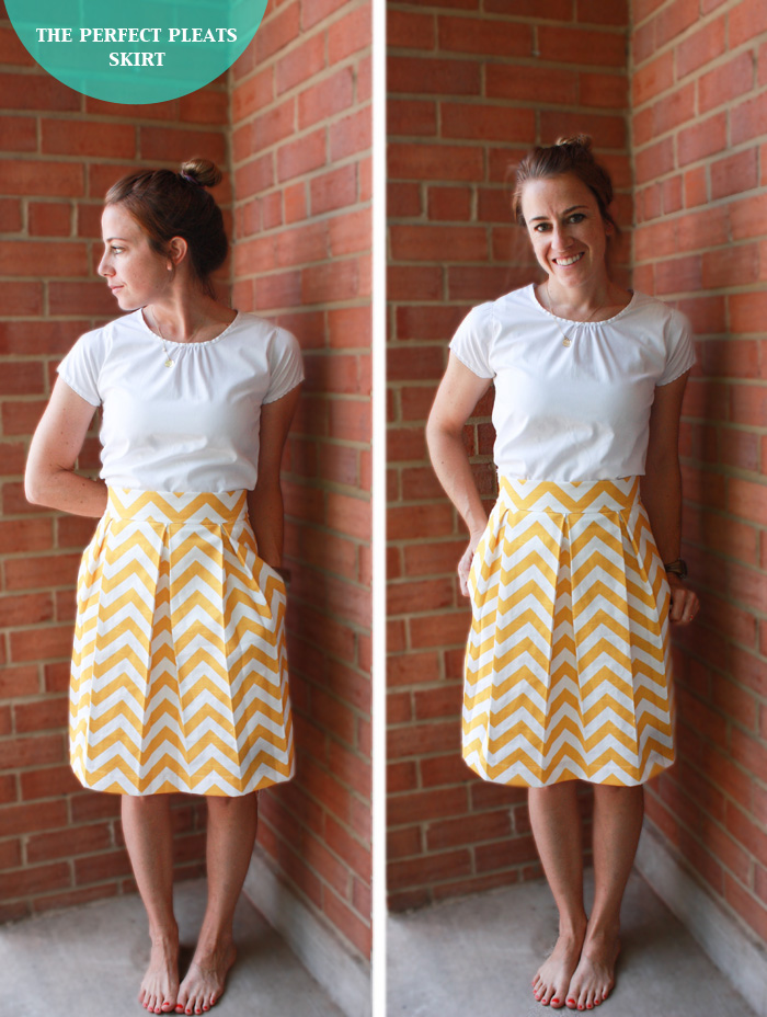 Sew Skirts – Correction to the Skirt with Pleats