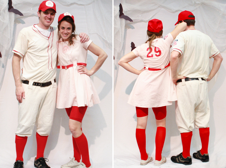 I ...  sc 1 st  Live Free Creative Co & A League of Their Own Team Costumes - Live Free Creative Co
