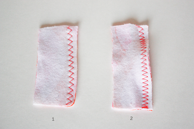 tee construction- one little minute blog- don't stretch as you sew!