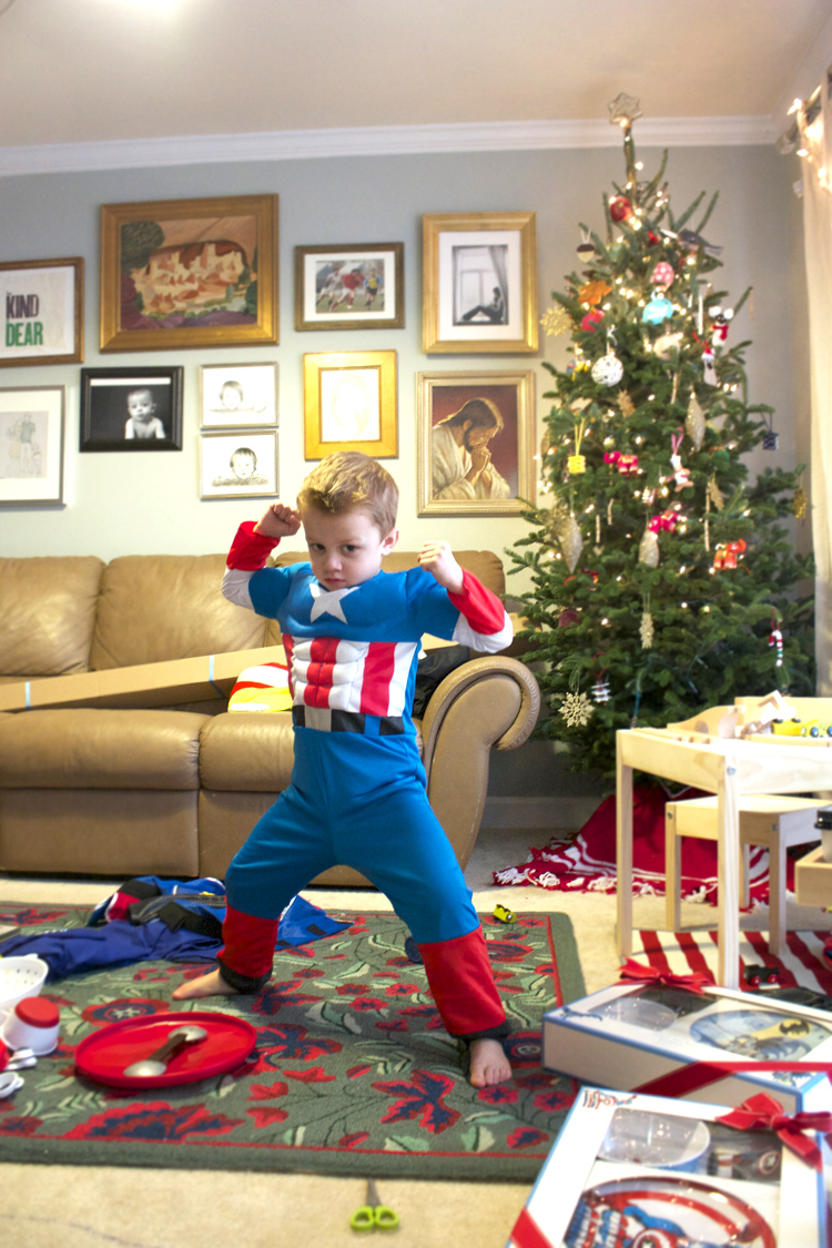 Cozy Christmas with Captain America OLM Blog