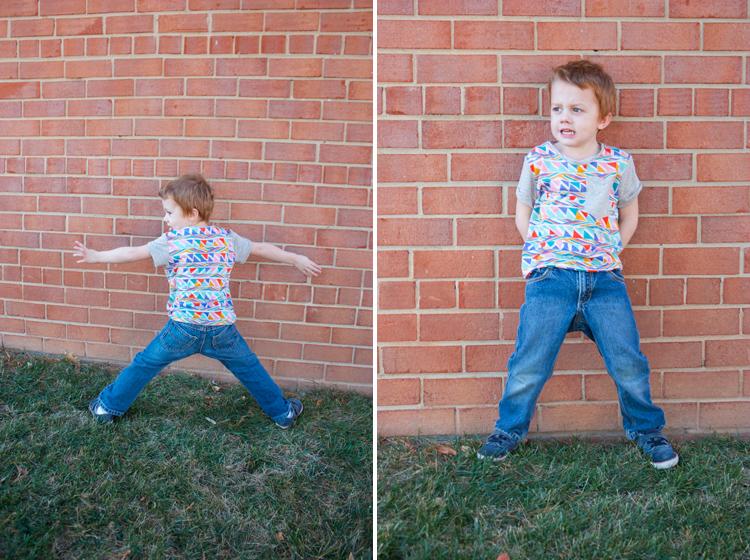 Figgy's Bayan Pattern Review - One Little Minute Blog - Cutest little tee shirt!