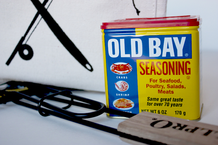 Old Bay for the Gill Master Gift - One Little Minute Blog