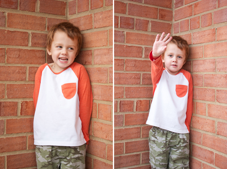 Oliver + S Raglan Tee Review - One Little Minute Blog - Awesome basic tee!