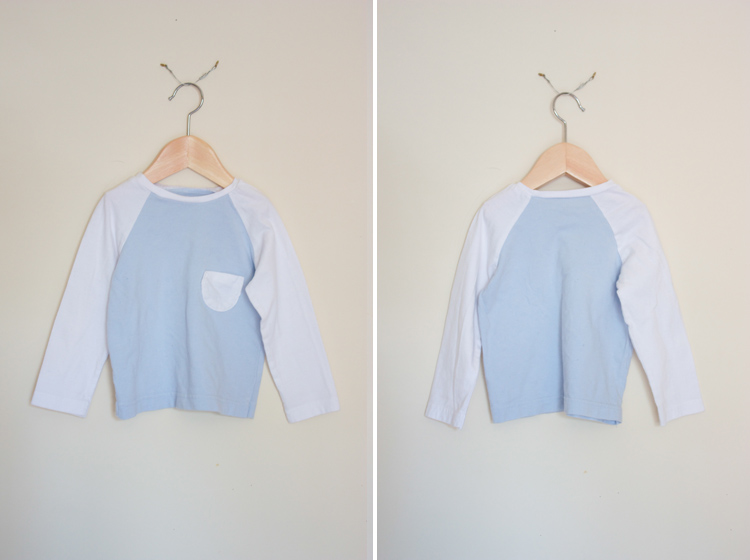 Oliver + S Raglan Tee Review - One Little Minute Blog - Awesome basic!