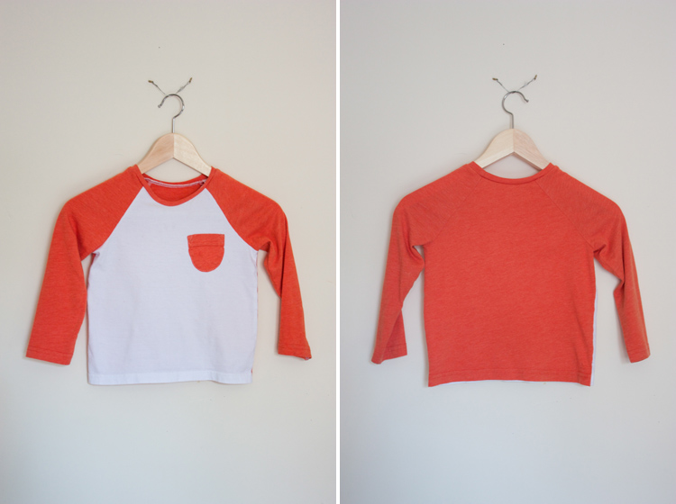 Oliver + S Raglan Tee Review - One Little Minute Blog - So cute