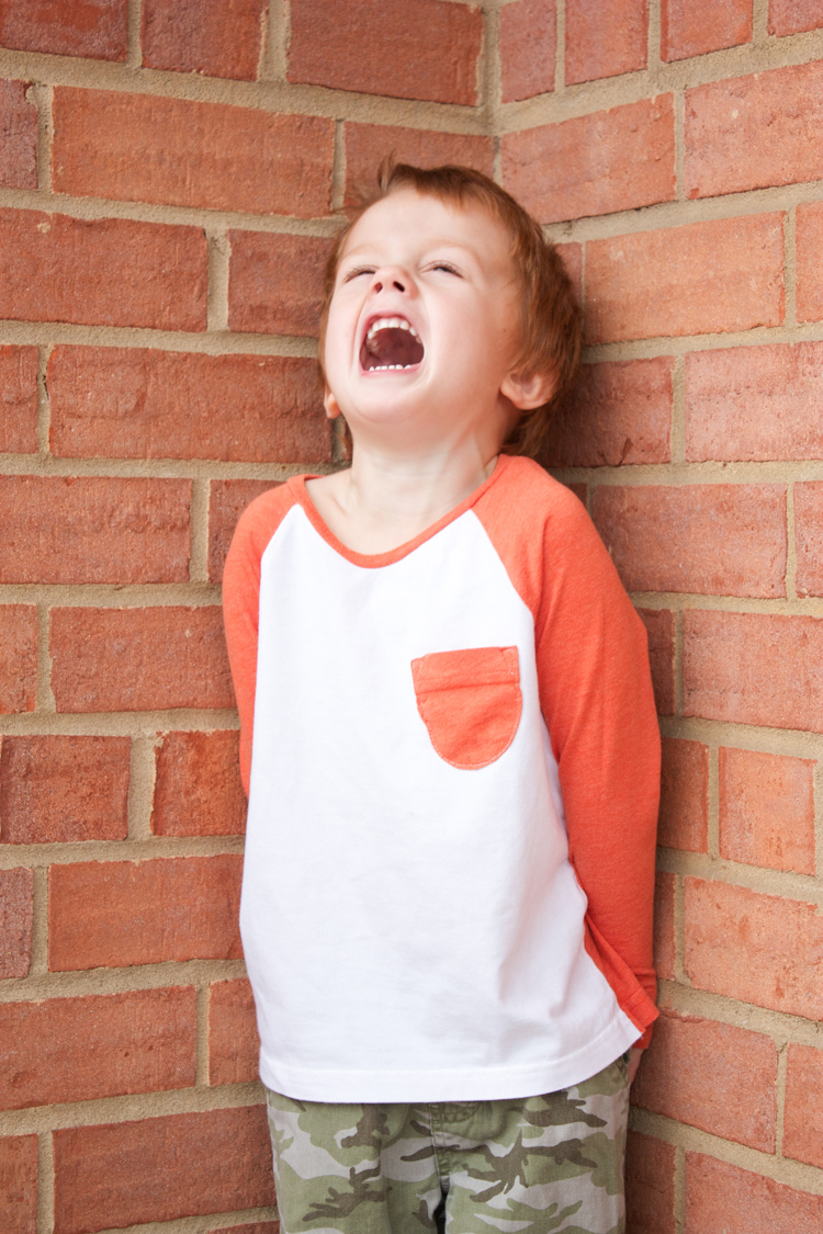 Stretch Yourself Series Review - One Little Minute Blog-Oliver + S Raglan Tee is the best!