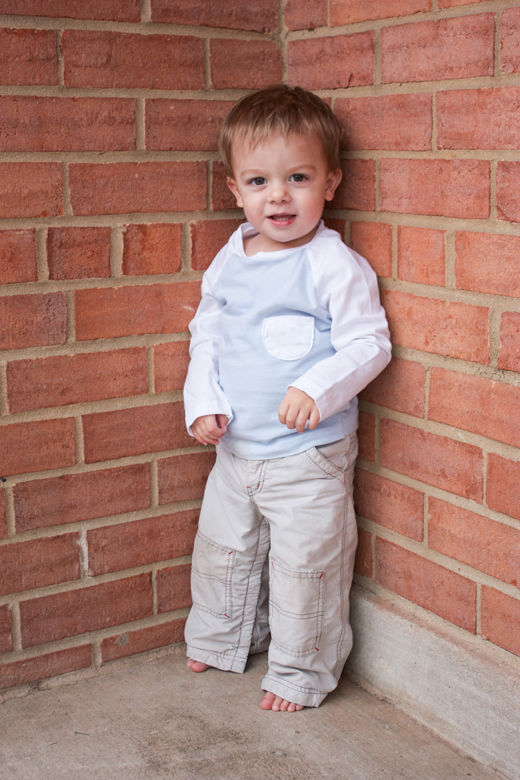 Stretch Yourself Series Review - One Little Minute Blog-Oliver + S Raglan Tee