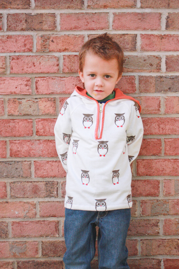 Stretch Yourself Series Review - One Little Minute Blog-Ottobre Hoodie