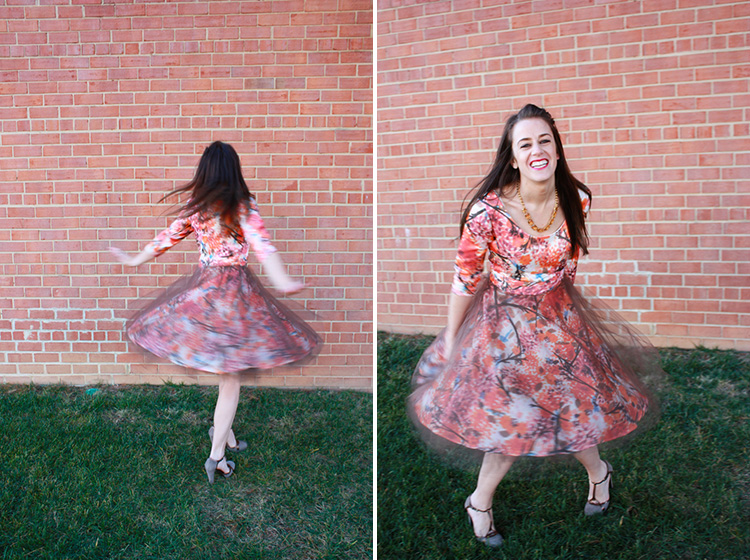 Alt Handmade- One Little Minute Blog - Joy Laforme Party Dress