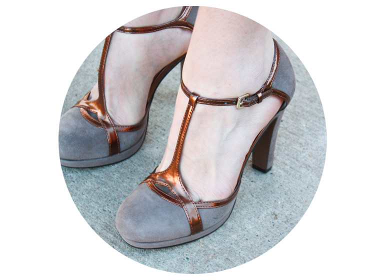 Alt Summit Handmade - Tahari Heels - One Little Minute Blog