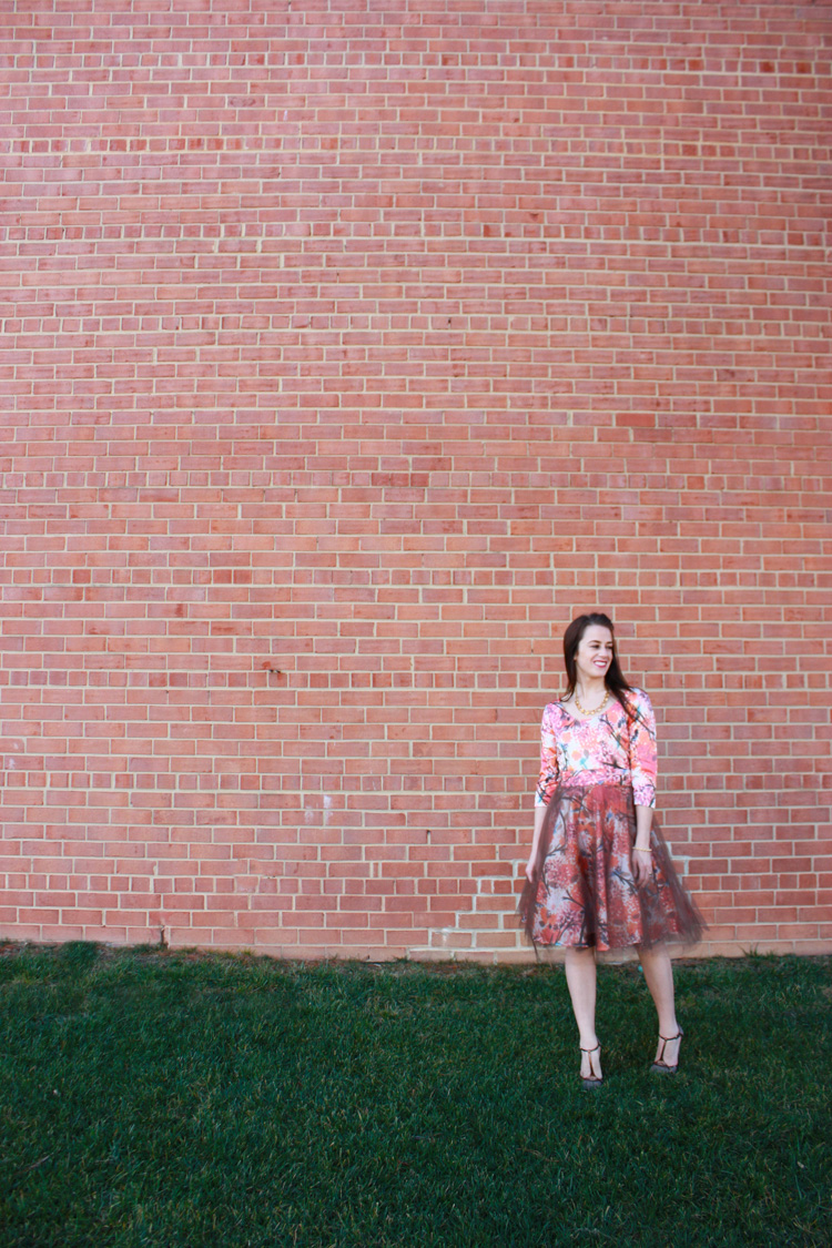 Alt Summit Party Dress - One Little Minute Blog