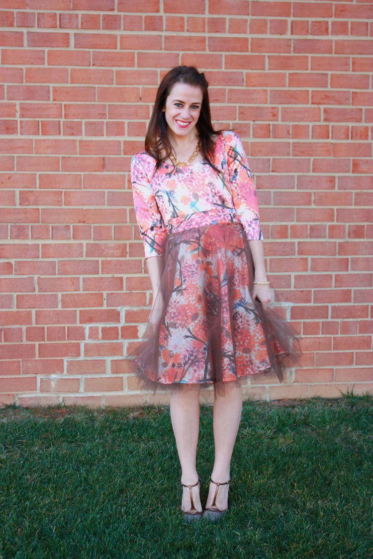 Alt Summit Tulle Dress- Joy Laforme Fabric- One Little Minute
