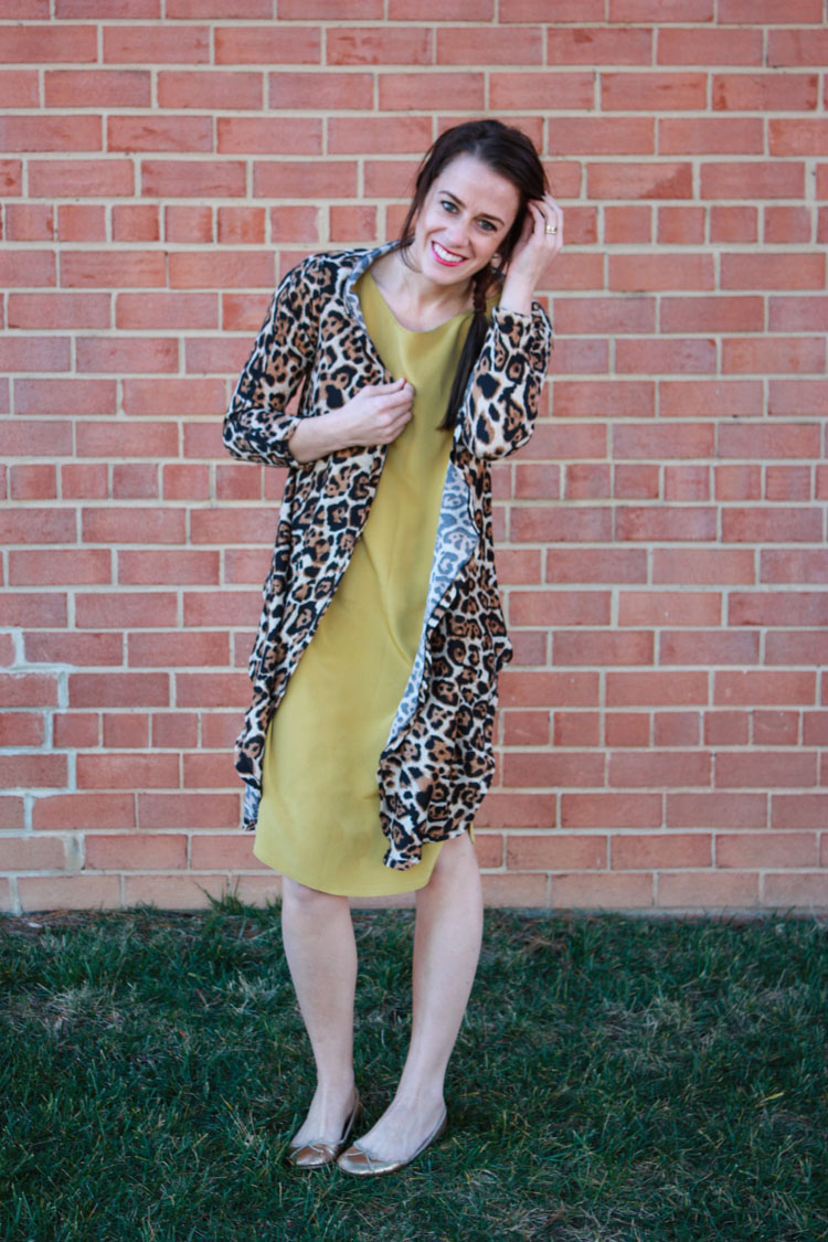 Alt Summit Wardrobe- One Little Minute Blog - Leopard Wrap Cardigan