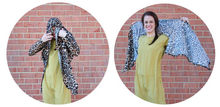 Alt Summit Wardrobe - One Little Minute - Leopard Wrap