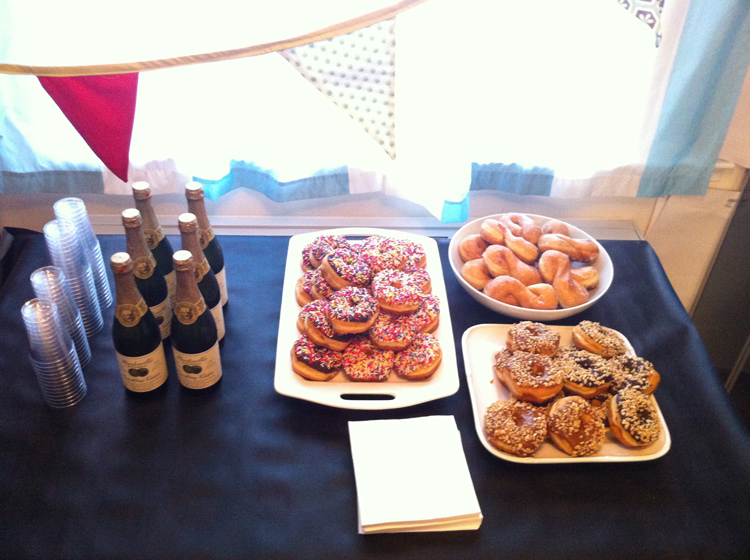 Donuts and Cider for 2013 -- One Little Minute Blog