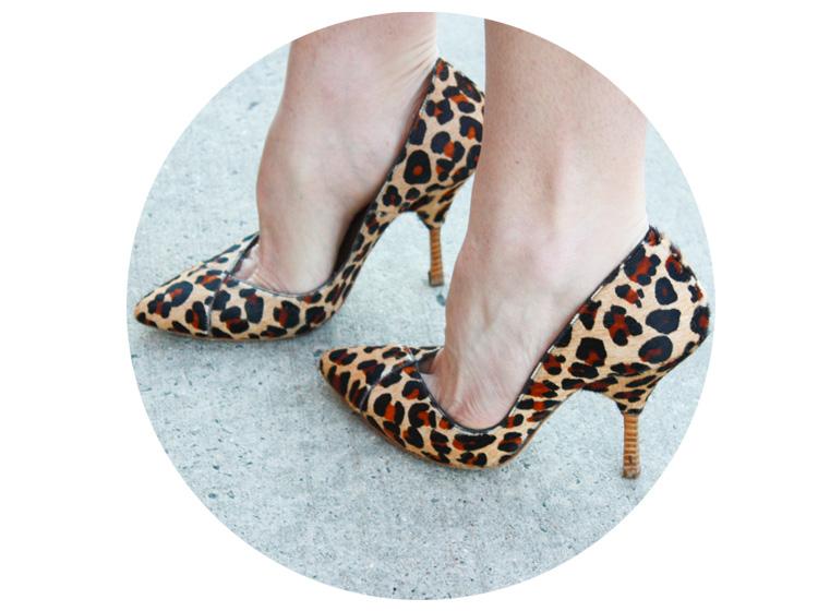 Emmerson Frye Leopard Heels- One Little Minute Blog