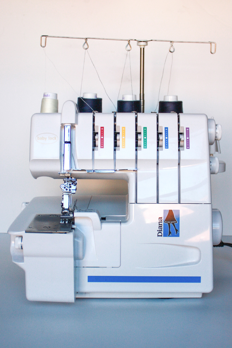 How to use a serger and coverstitch machine - One Little Minute Blog
