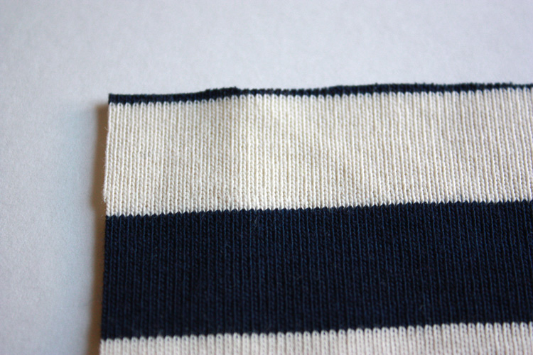 Knit Fabric Overview - One Little Minute Blog - Interlock wrong side