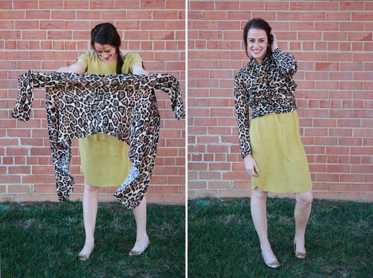 Leopard Wrap Cardigan-One Little Minute Blog- Alt 2013 Wardrobe