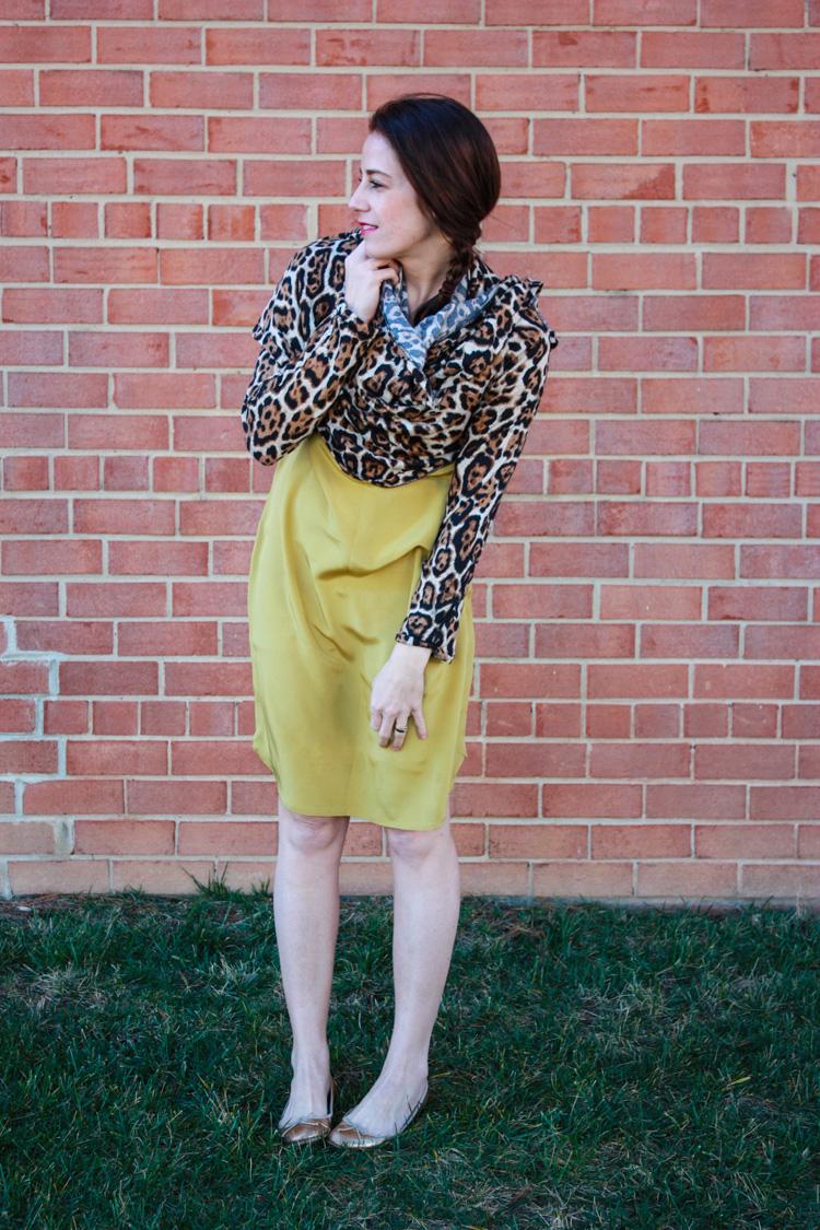 Leopard Wrap Cardigan -One Little Minute Blog -Alt Wardrobe