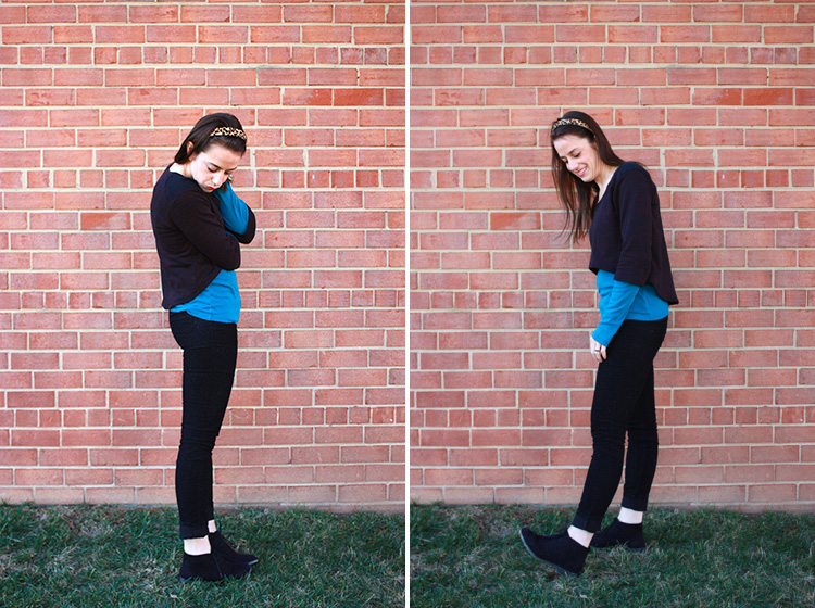 Megan Nielsen Briar Review- One Little Minute Blog - Best Tee Pattern!