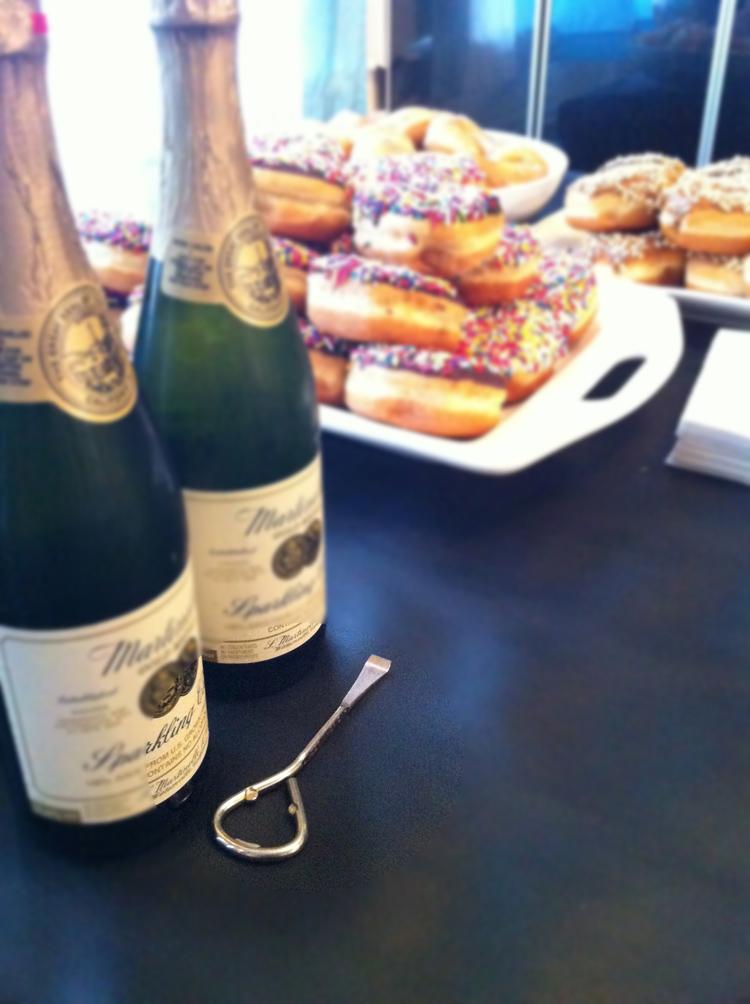 New Years Brunch --One Little Minute --sweet bottle opener dude