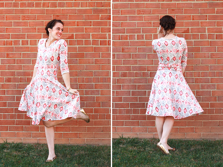 Tee Shirt Dress Variation + Fabric Fairy Giveaway // Stretch ...