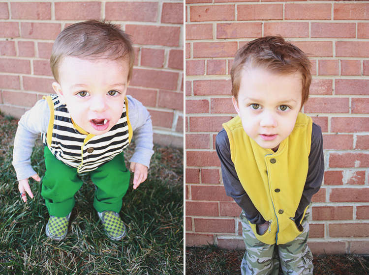 Flip Vest Pattern Review-One Little Minute-Brothers