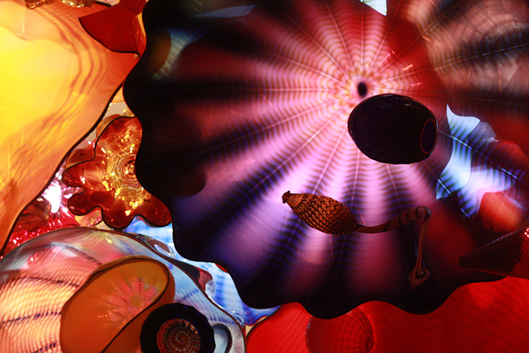 One Little Minute Blog-Birthday Trip-Chihuly Glass