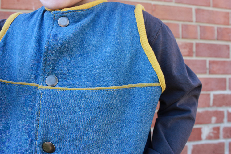 One Little Minute Blog-Flip Vest Details-Western