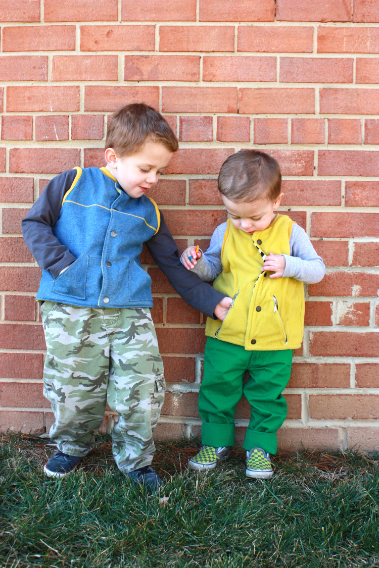 One Little Minute Blog-Flip Vest Review-Brothers!