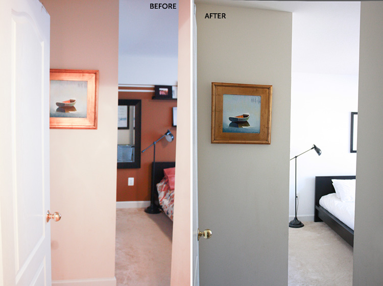 Simple Bedroom Redo-Entry-One Little Minute Blog