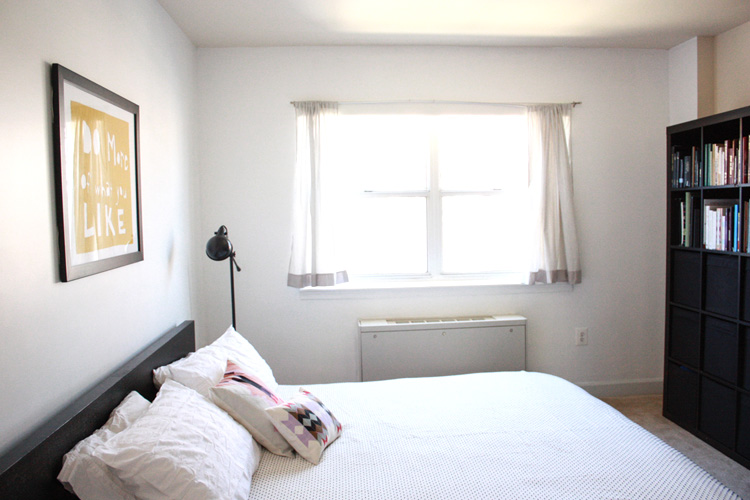 Simple Bedroom Redo-Light and Airy- One Little Minute Blog-15