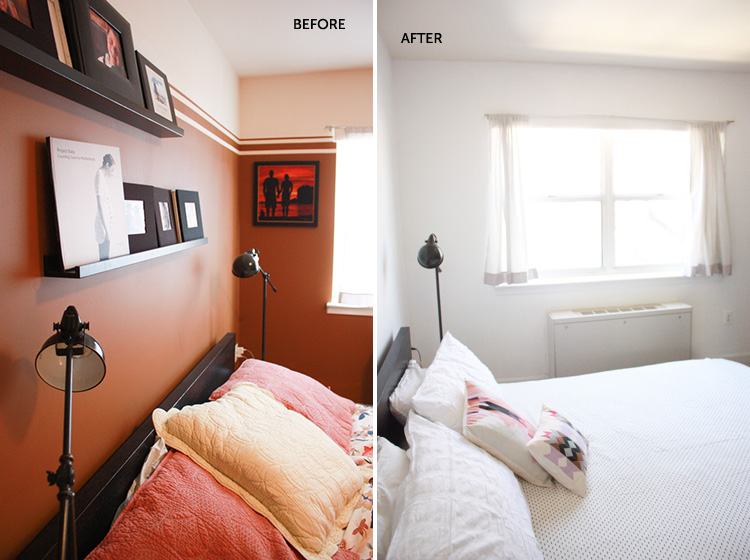 Simple Bedroom Redo-Window-One Little Minute Blog