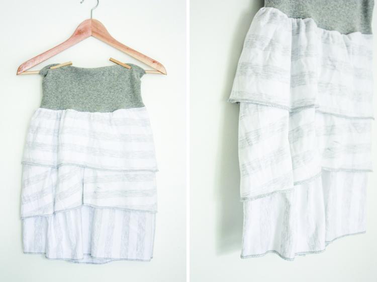 Layered Skirt-One Little Minute Blog