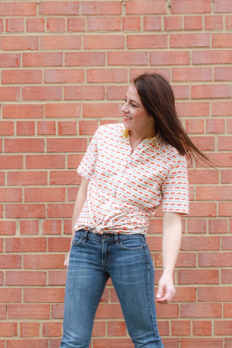 One Little Minute Blog-Archer Shirt for Summer