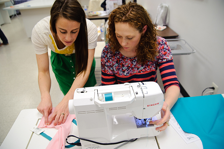 One Little Minute Blog- Sew a Bow DC Teaching
