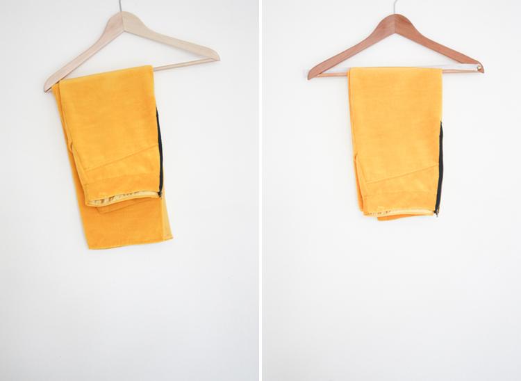 One Little Minute Blog- Trouser Hanger DIY