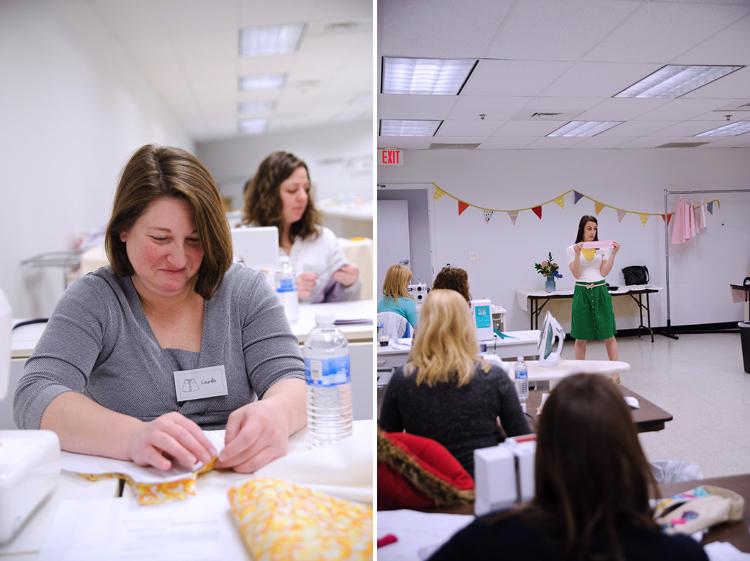 Sew a Bow Class- One Little Minute Blog-Class