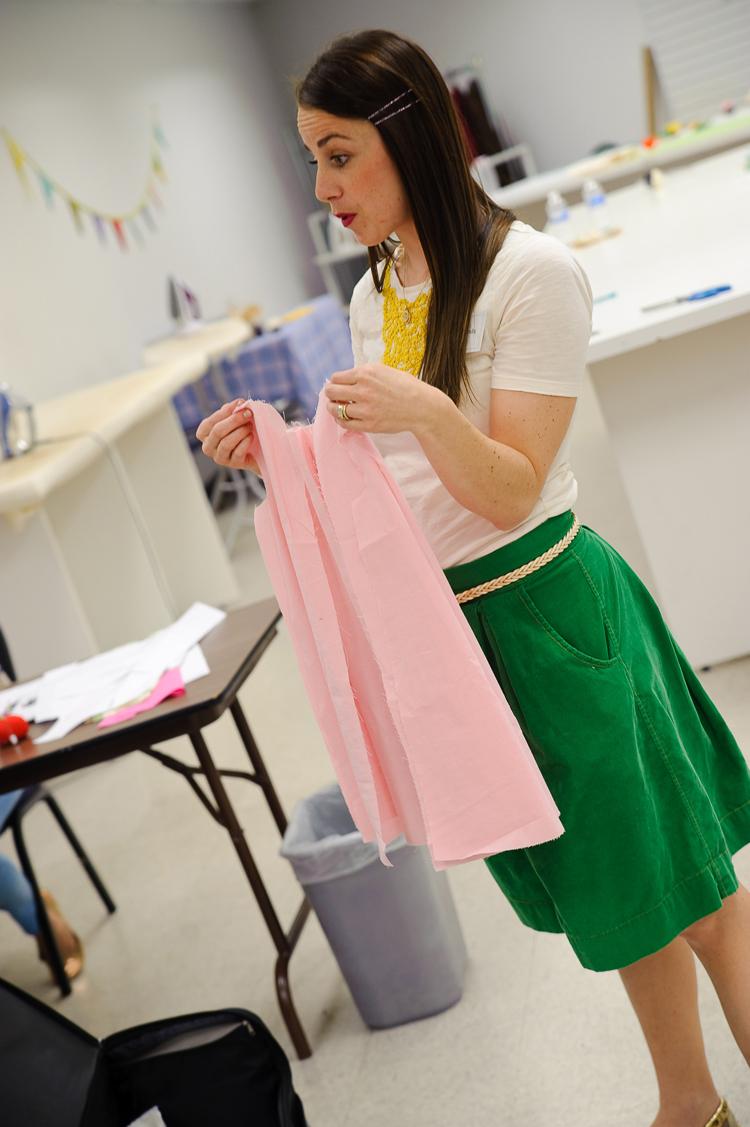 Sew a Bow DC Class- One Little Minute Blog-Miranda