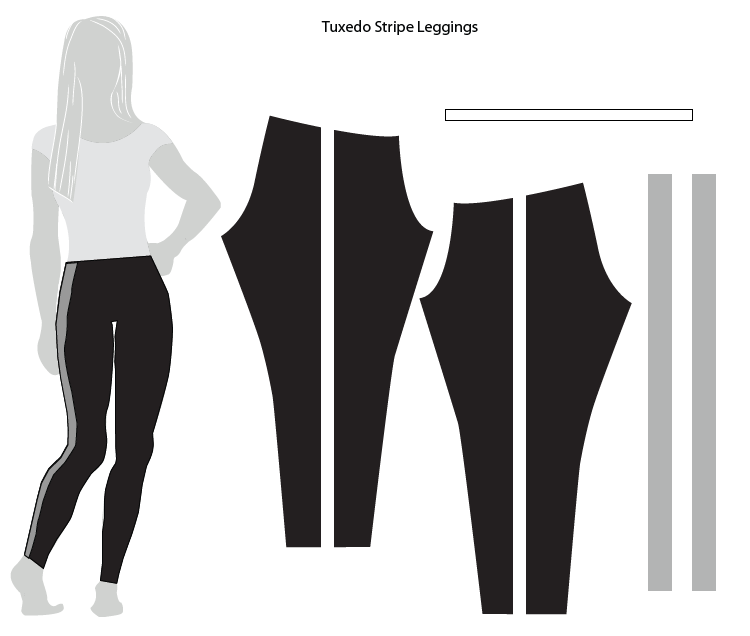 Tuxedo Stripe Leggings-One Little Minute Blog-03