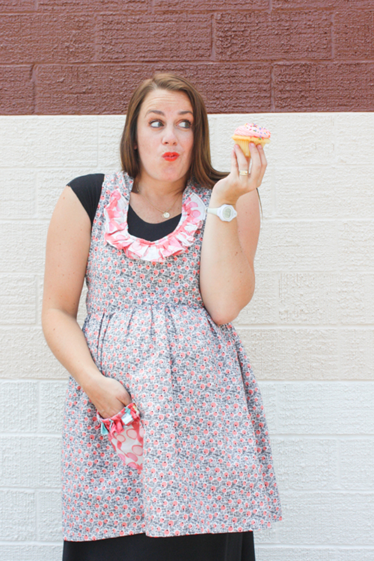 One Little Minute Blog-Ruffled Apron Remix-6
