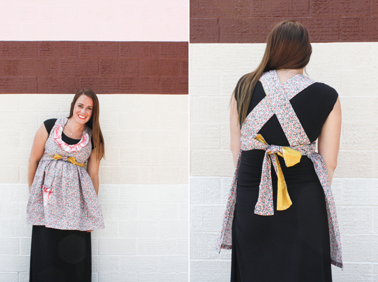 Ruffle Apron Remix Ties-One Little Minute