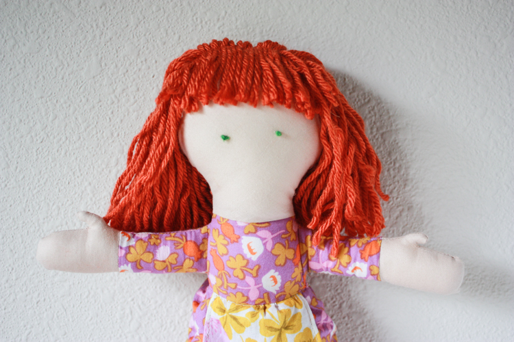 One Little Minute Blog-Handmade Doll-Sewing Tales Blog Hop-6