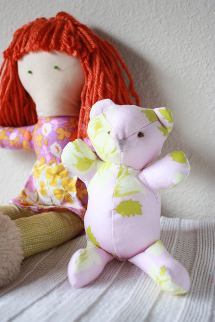 One Little Minute Blog-Handmade Doll-Sewing Tales Blog Hop-9