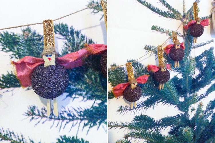 Handmade Ornament Exchange 2013- One Little Minute Blog