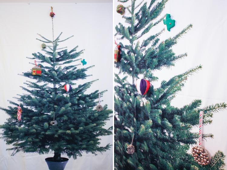 Ornament Exchange 2013- One Little Minute Blog-Handmade