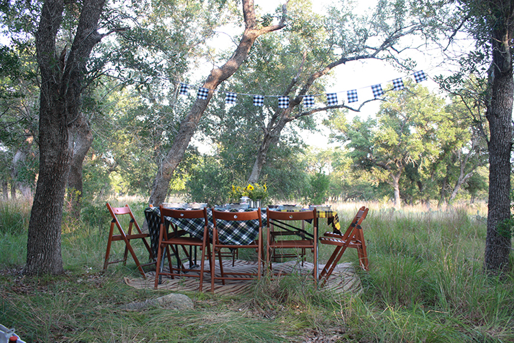Glamping Outdoor Dinner-One Little Minute Blog-11